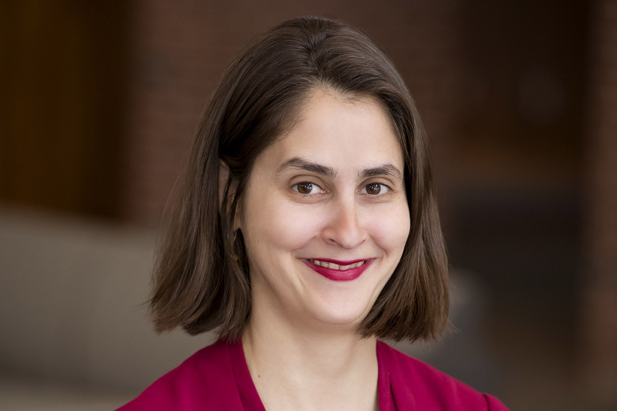 Photo of Lesley Wexler, a University of Illinois law professor who studies anti-discrimination law.