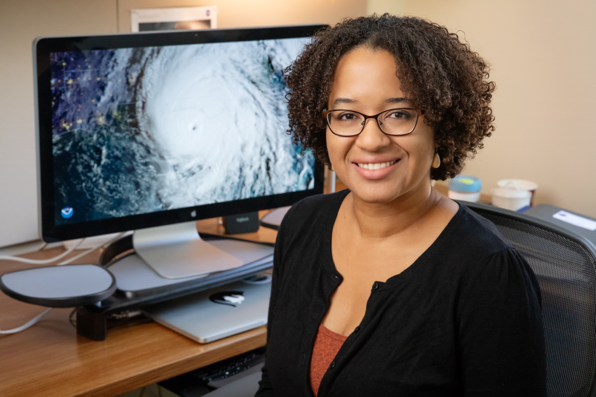 University of Illinois at Urbana-Champaign atmospheric sciences professor Deanna Hence discusses how some hurricanes become so large, the paths they take and how global climate change may affect these factors.