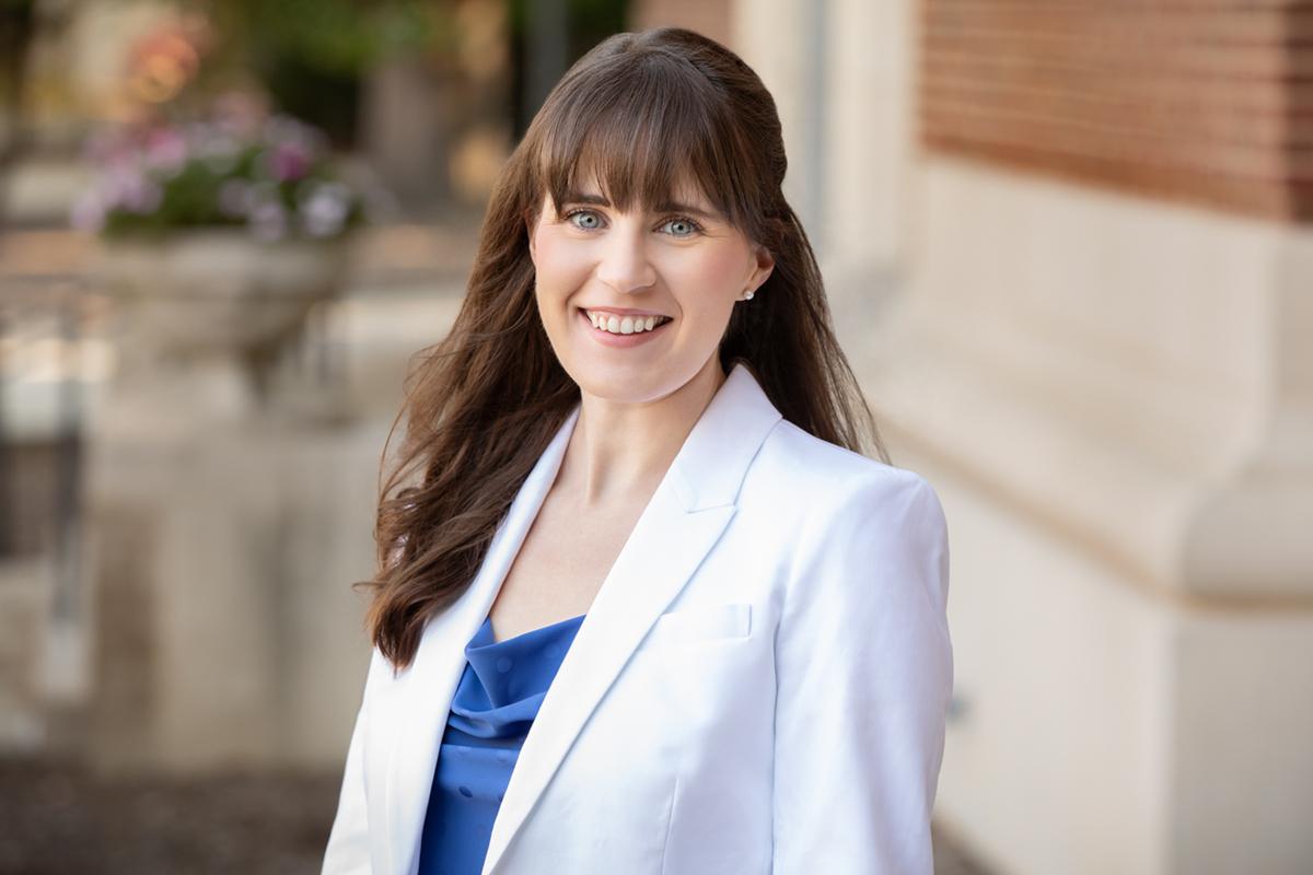 Communication professor Emily Van Duyn
