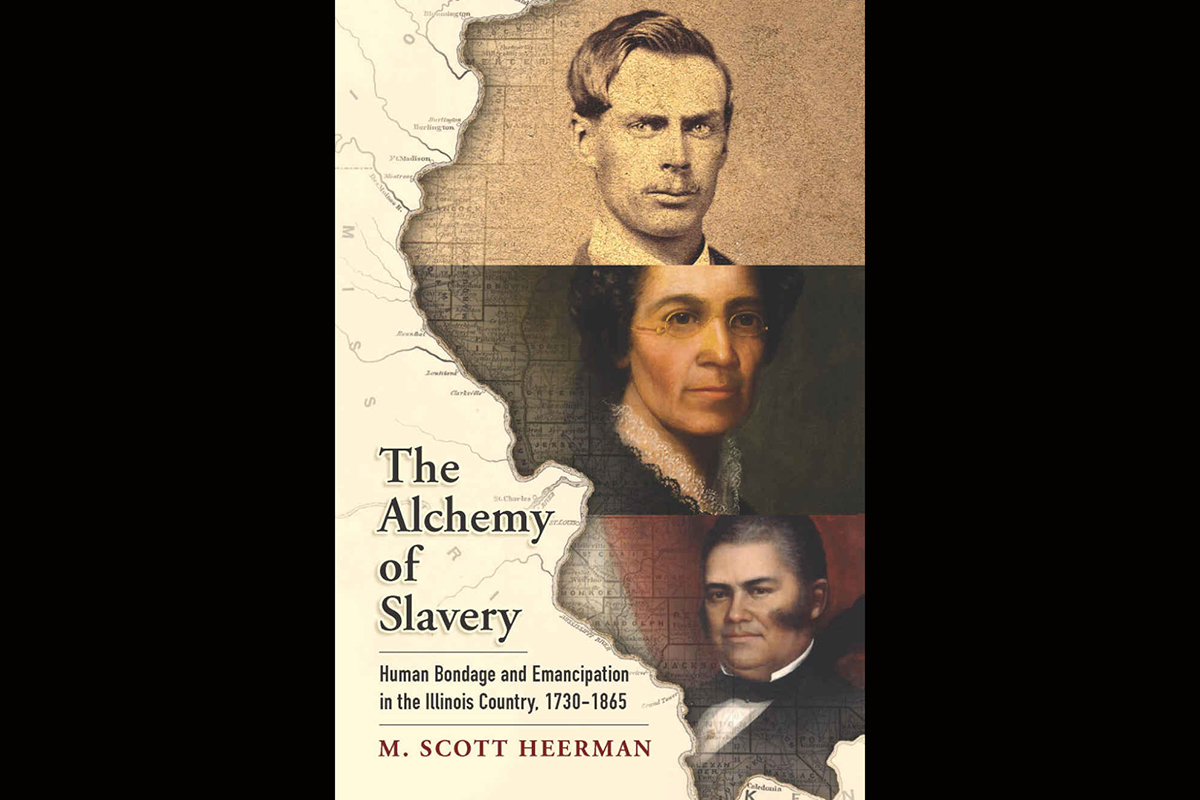 M. Scott Heerman's book on the move from slavery to freedom in Illinois will be the subject of a lecture by the author.