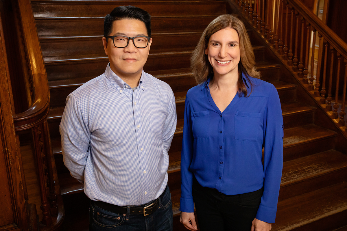 Professors David Huang and Laura Shackelford and their colleagues are designing Virtual Archaeology, a course that will allow students to experience an archaeology field dig without leaving campus.