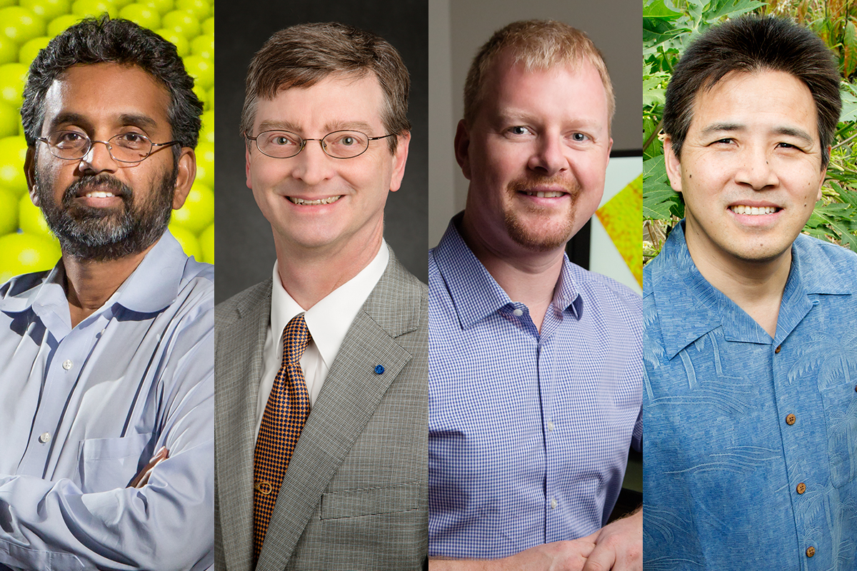 Narayana Aluru, William Gropp, Andrew Leakey and Ray Ming are among 416 scientists elected AAAS Fellows this year.