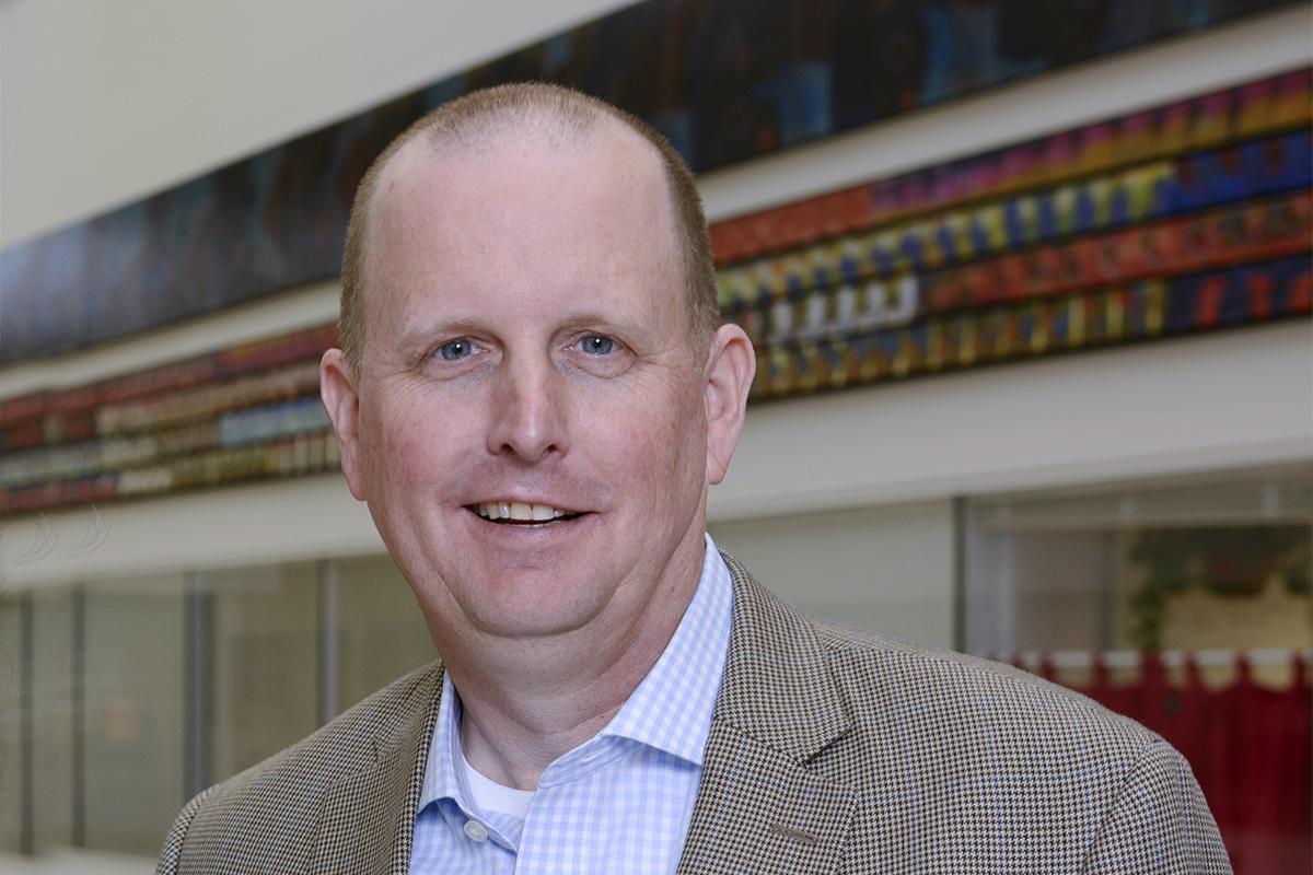 A portrait of Dr. Jim Lowe