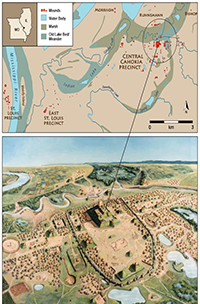Pyramids In America Map.Revealing Greater Cahokia Details Research On Ancient North
