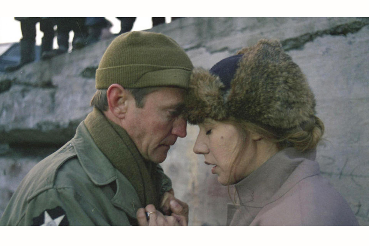 "Actors Scott Wilson and Maja Komorowska in a scene from ""A Year of the Quiet Sun,"" the first film announced for this year's ""Ebertfest."""