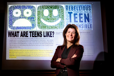 Psychology professor Eva Pomerantz and her colleagues found that middle school students' stereotypes about adolescence influence their own behavior.