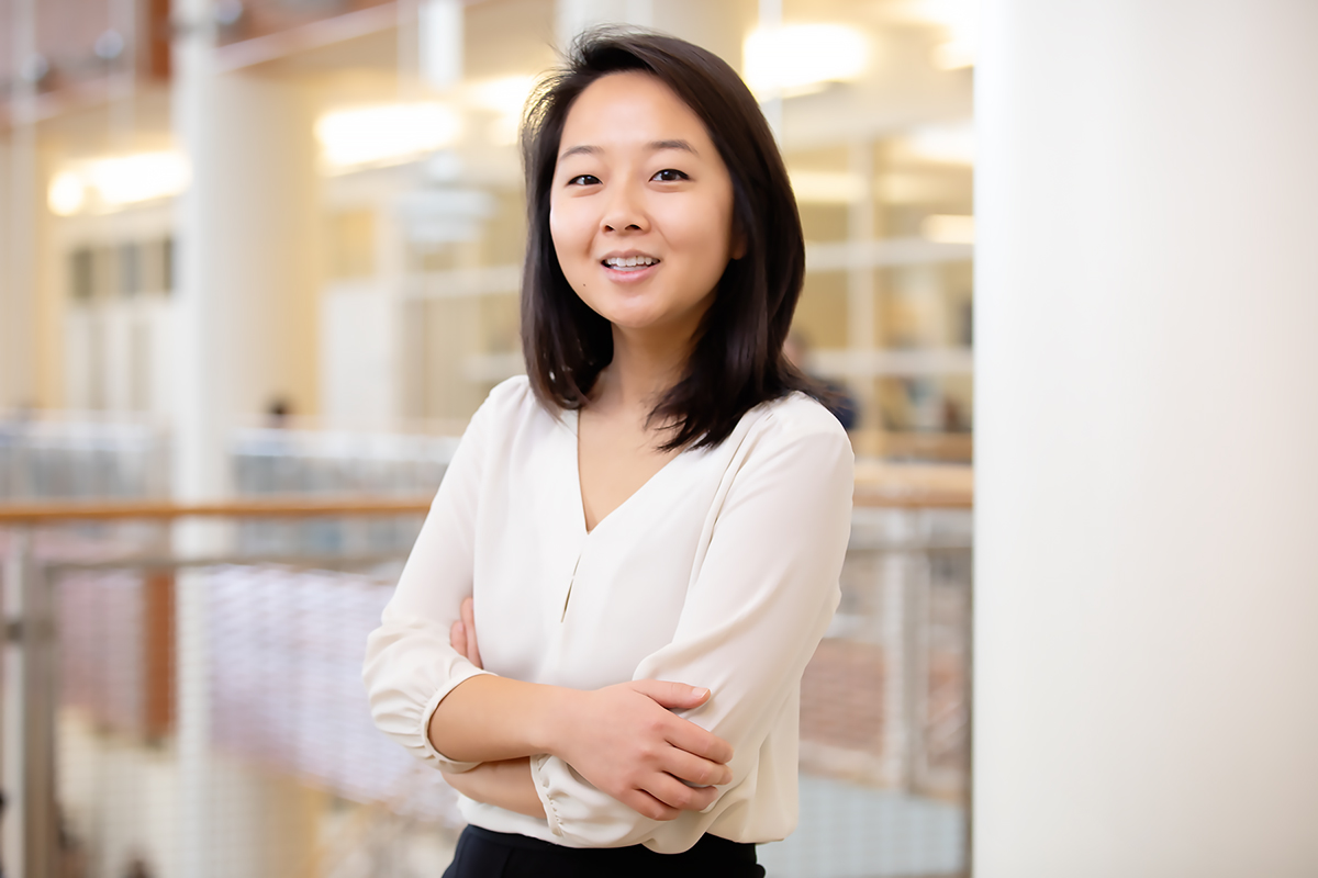 Illinois psychology graduate student Faith Shin conducted a study that found that reading articles from trusted religious sources advocating care of the Earth can affect Christians' attitudes about climate change.