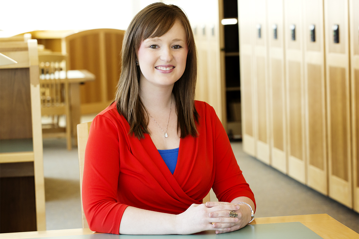 Photo of Brenna Ellison, a professor of agricultural and consumer economics at Illinois.