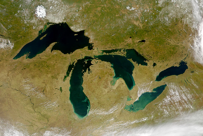 A new assessment makes grim predictions about the effects of climate change in the Great Lakes region.
