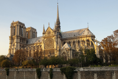 Notre Dame Cathedral, severely damaged by fire this week, holds historical and symbolic significance for both France and the world, say two University of Illinois historians.
