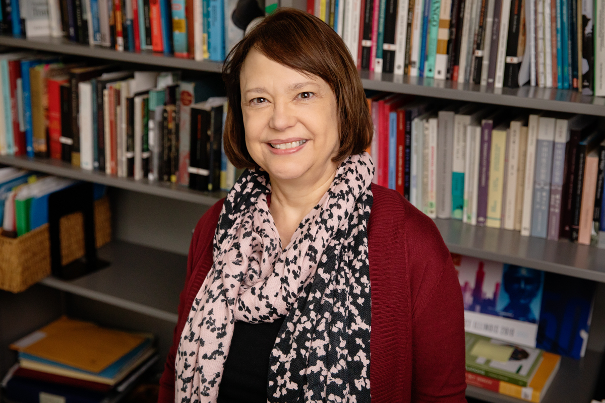 Joyce Tolliver, an associate professor of Spanish and Portuguese and the director of the Center for Translation Studies, is one of three faculty members honored with Campus Awards for Excellence in Faculty Leadership.