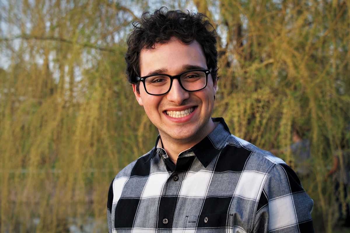 University of Illinois senior Gabriel Wacks will take part in an interdisciplinary master's degree program at Peking University's Yenching Academy. He currently is studying a intensive Chinese language studies at Shanghai University of Finance and Economics.