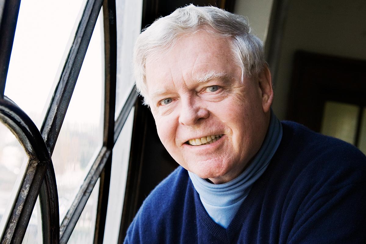 Photo of professor emeritus of community health Thomas W. O'Rourke