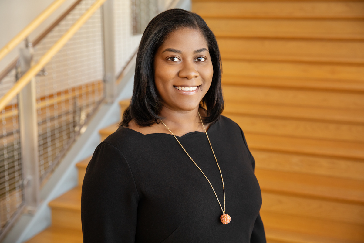 Photo of Gies College of Business accounting professor Nerissa Brown.