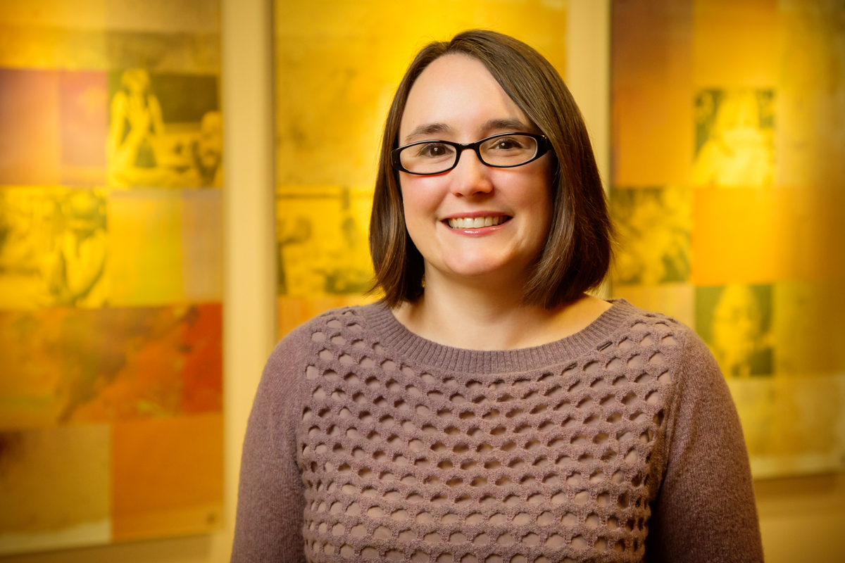 Photo of University of Illinois social work professor Kate Wegmann