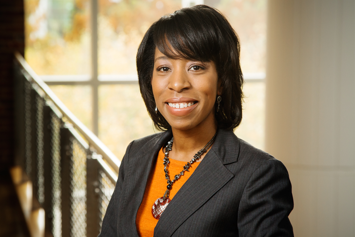 Photo of Eboni Zamani-Gallaher, the director of the Office of Community College Research and Leadership at the Universityof Illinois