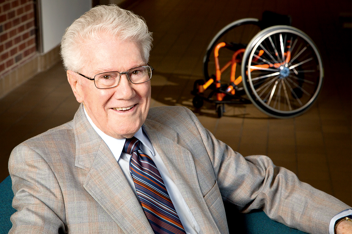 Tim Nugent, who directed a first-of-its-kind program at Illinois for college students with disabilities, is being inducted posthumously into the U.S. Olympic & Paralympic Hall of Fame.