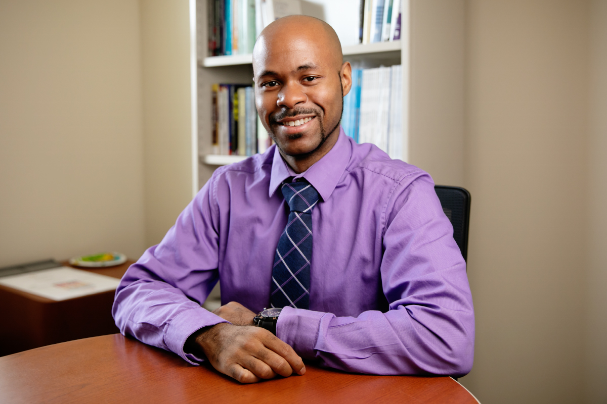 Photo of University of Illinois social work professor Ryan Wade