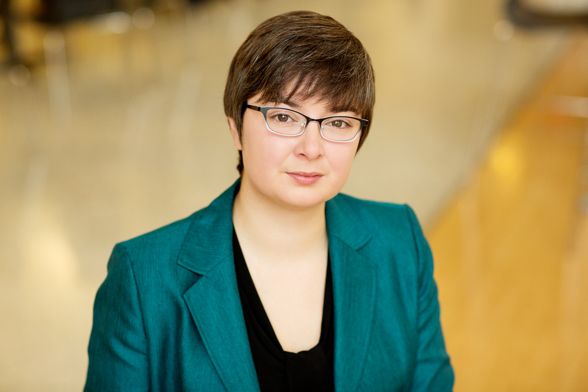 Photo of U. of I. labor economist Eliza Forsythe