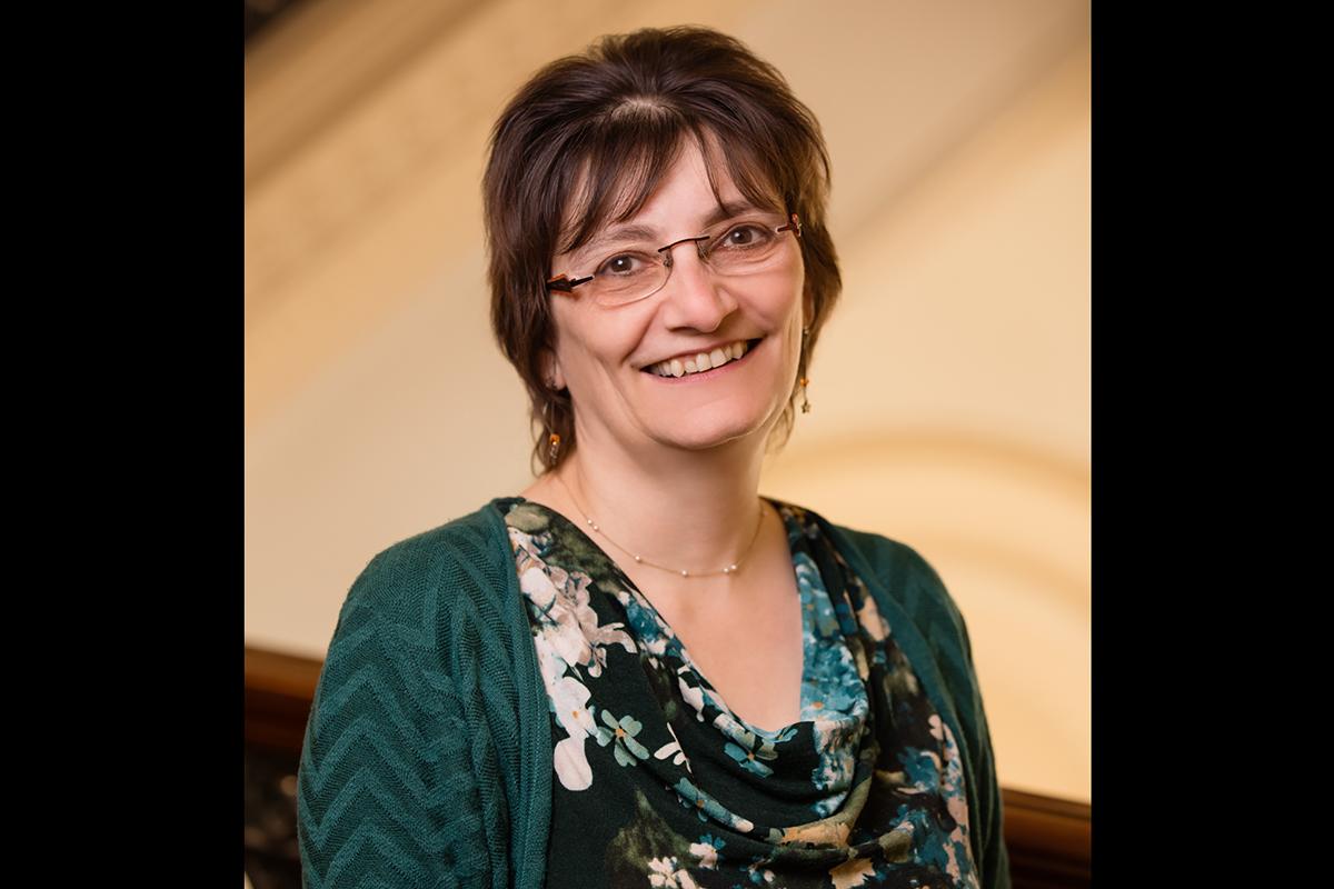 Music professor Christina Bashford