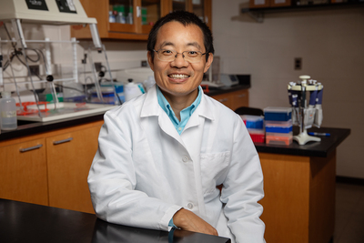 Leyi Wang, a virologist and professor of Veterinary Medicine.