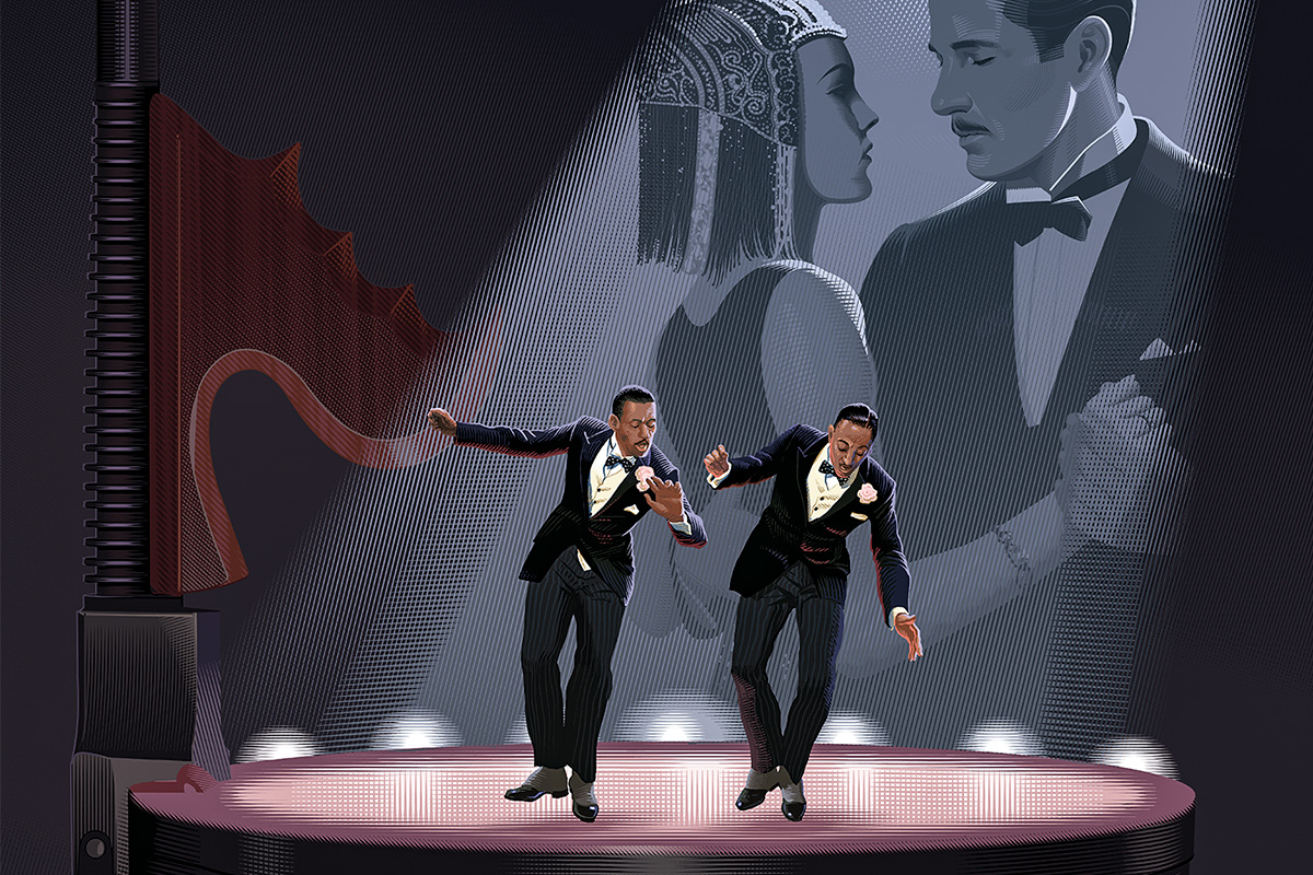 "An image from the poster for ""The Cotton Club Encore,"" which will open this year's Roger Ebert's Film Festival."