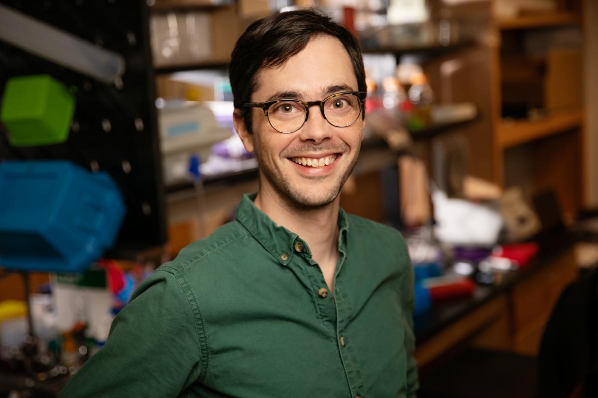 University of Illinois professor Christopher Brooke.