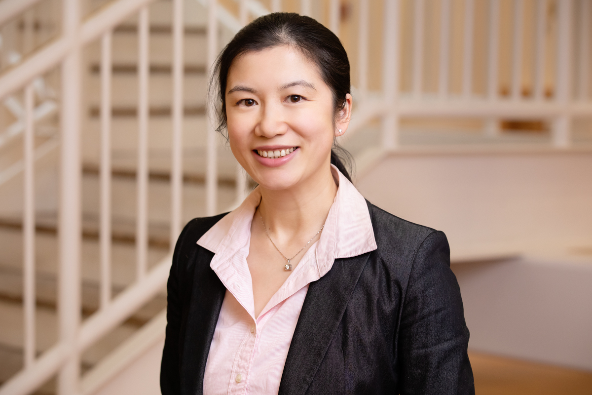 Photo of Yilan Xu, a professor of agricultural and consumer economics at the University of Illinois at Urbana-Champaign