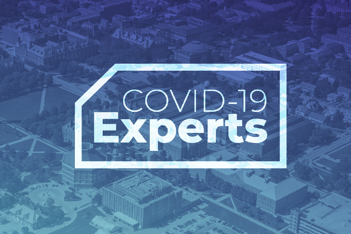 COVID-19 Experts graphic