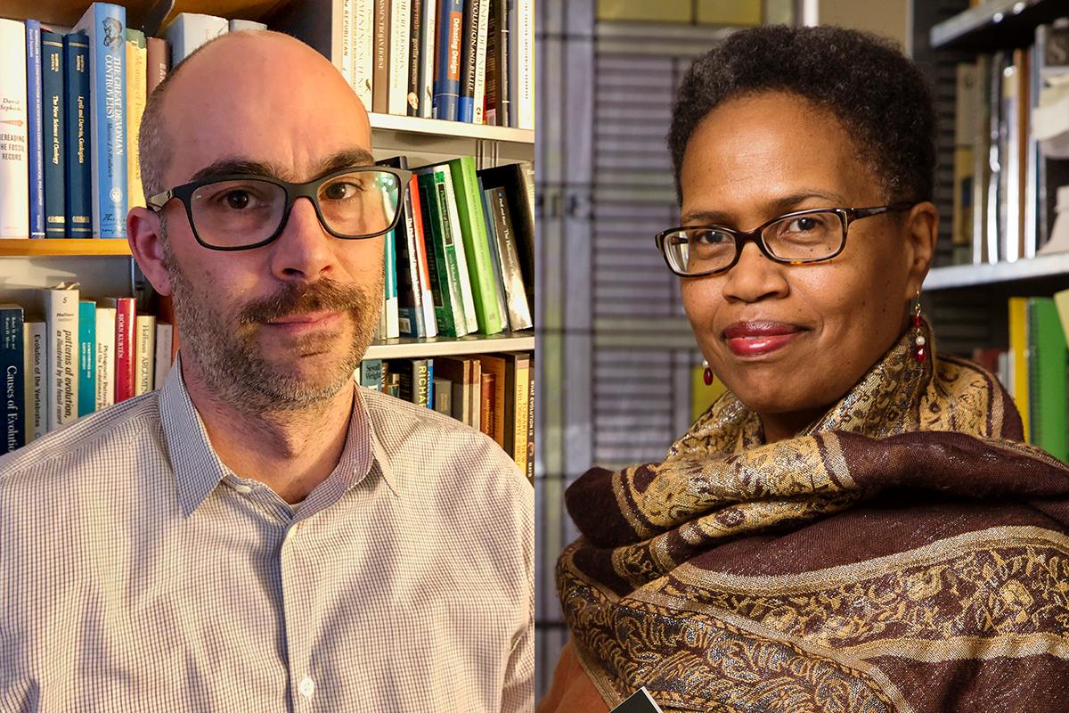 David Sepkoski and Janice Harrington