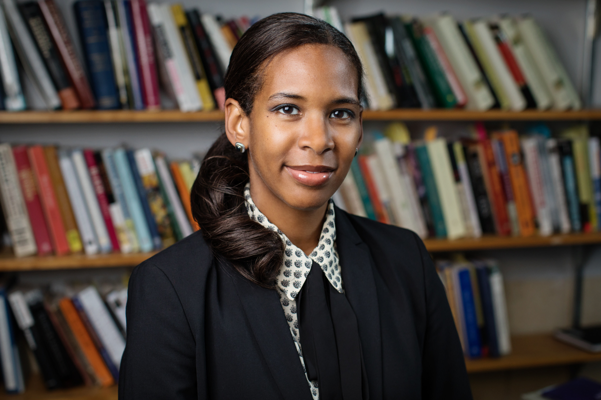History professor Rana Hogarth's research focuses on the history of both medicine and race, and the connections between.