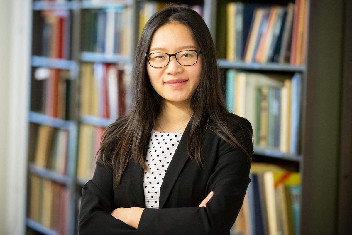 Photo of University of Illinois graduate student Dandan Tao, lead author of a study on text-mining in food research.