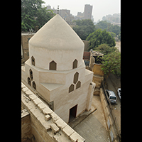 Photo of a tomb in Cairo
