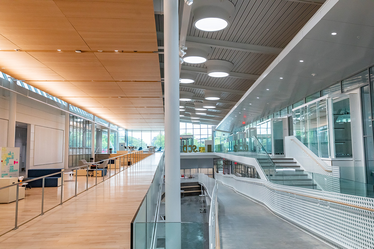 Siebel Center for Design interior photo